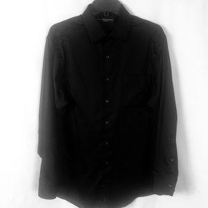 Geoffrey Beene Long Sleeve Button Dress Shirt 16
